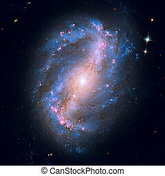 NGC 6217 is a spiral galaxy in the constellation Ursa Minor....