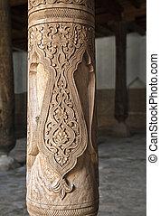 Friday misque in Khiva, Uzbekistan - Friday - Djuma - mosque...