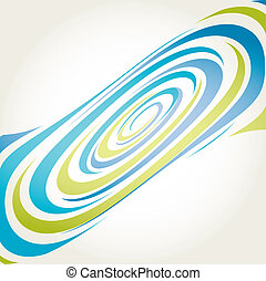 Spiral background vector illustrati