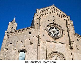 Matera Cathedral. Basilicata.