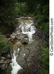 Fallbach Water Fall, Carinthia, Austria - The Fallbach Water...