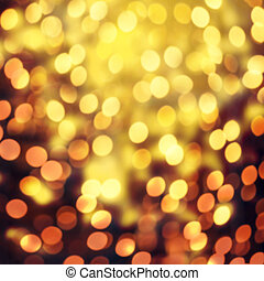 Christmas elegant abstract background with bokeh lights and...