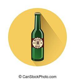 Oktoberfest Festival Glass Bottle Beer Icon