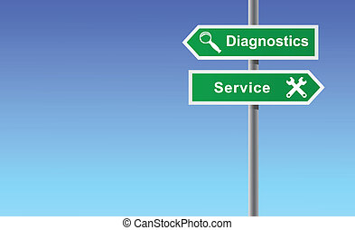 Arrows diagnostics service.