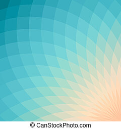 Geometric abstrackt backround - Background with bright blue...