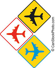 aircraft sign
