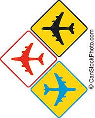 aircraft sign