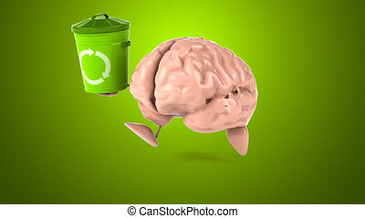 Brain - Computer animation
