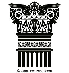 Vector Greek ornament - Vector image of ancient Greek...