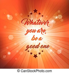 inspirational quote background 0208 - Inspirational quote on...