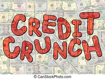 Credit crunch on dollars