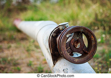 Agricultural water pipe