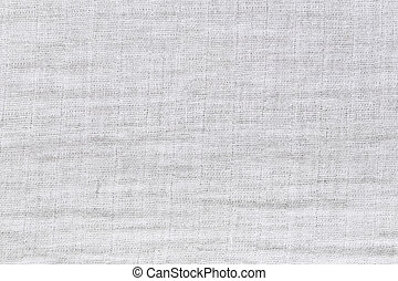 Texture of white raw fabric for the background design -...