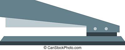 stapler - Flat image of manual stapler. Eps 10