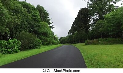 asphalt road at connemara in ireland 14 - travel and...