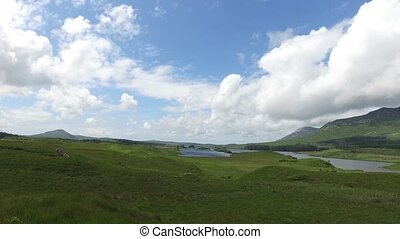 view to lake or river at connemara in ireland 31 - nature...