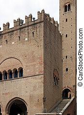 Palazzo dell'Arengo Piazza Cavour Rimini Italy