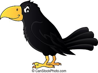 Crow theme image 1 - eps10 vector illustration.
