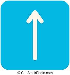 Up Arrow icon - Up Arrow, modern flat icon