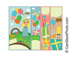 Kids Party and Birthday Banners