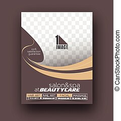 Beauty Care & Salon Front Flyer & poster Template