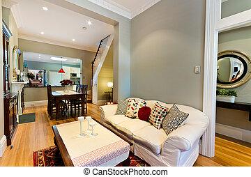beautiful Living room - beautiful living room . sofa, coffee...