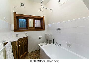 Bathroom of the luxurious house