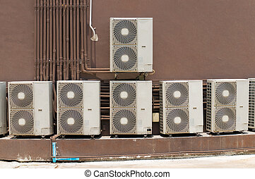 Air conditioning compressor.