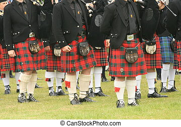 Kilts, kilts, kilts #2 - Shot of the kilts during the...