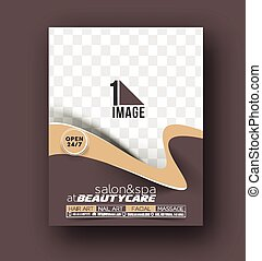 Beauty Care and Salon Front Flyer and poster Template -...