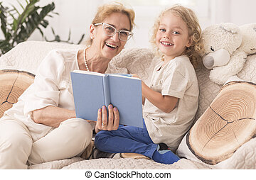 This is my favourite story - Mature babysitter reading a...