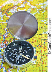 No orientation no travel. The tools of orienteering - map...