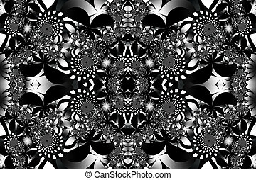 Fabulous black-white background You can use it for...