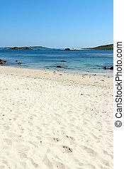 Rushy bay beach, Bryher Isles of Scilly.