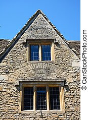 Stone cottage, Castle Combe. - Cotswold stone cottage built...