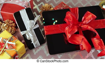 Devices for Christmas - Tablet pc, smartphone and smartwatch...
