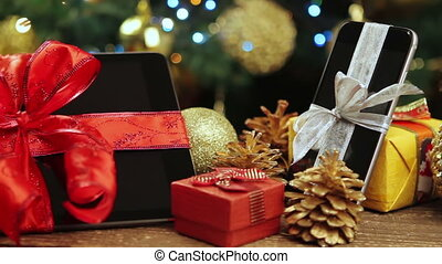 Tablet pc, smartphone for Christmas - Tablet pc, smartphone...