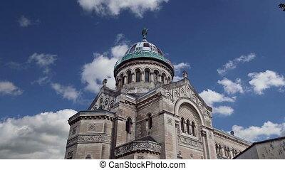 Basilica of Saint-Martin, France - Basilica of Saint-Martin,...