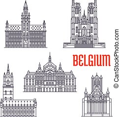 Historic buildings and architecture of Belgium - Famous...