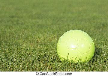 green football ball