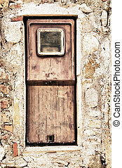 electricity meter - old electricity meter