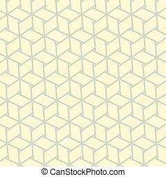 Seamless fabric pattern - Seamless linen Japanese fabric...