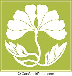 flowers lotus flat simlpe vector illustraton - lotus flower...