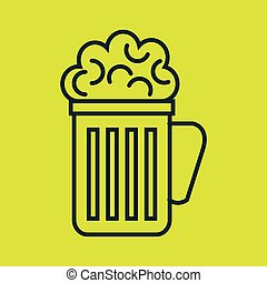 glass beer cup icon
