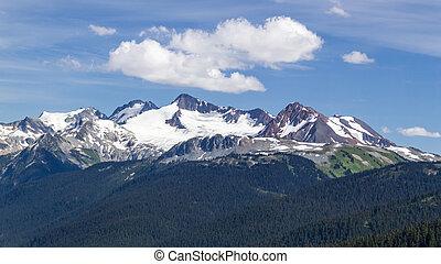 Black Tusk newar Whistler British Columbia - summit of Mount...
