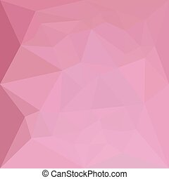 Rosy Brown Abstract Low Polygon Background - Low polygon...