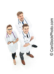 A group of the successful doctors