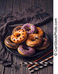 Halloweeen donuts