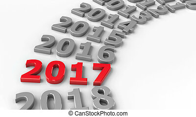 2017 past circle - 2017 past in the circle represents the...