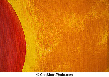 Abstract art background Oil painting on canvas Spots of oil...